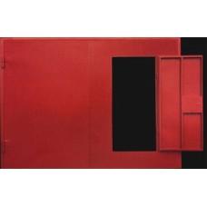 Ворота гаражные с калиткой 2