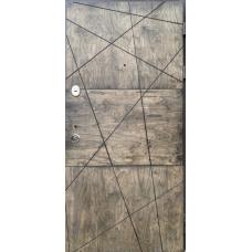 Входная дверь с влагостойкой фанерой 34
